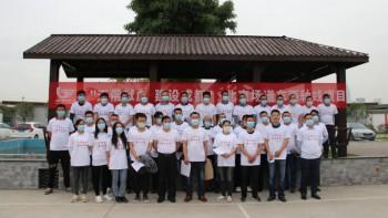 迎大运 无偿献血 建设成都--中化岩土集团在蓉开展无偿献血公益活动